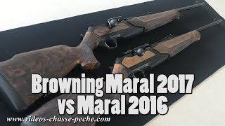 Browning Maral 2017 - Nouveautés nouvelle Maral 2017