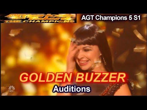 America's Got Talent-Алтан баззерын эзэн Ксения Симонова элсний уран бүтээл
