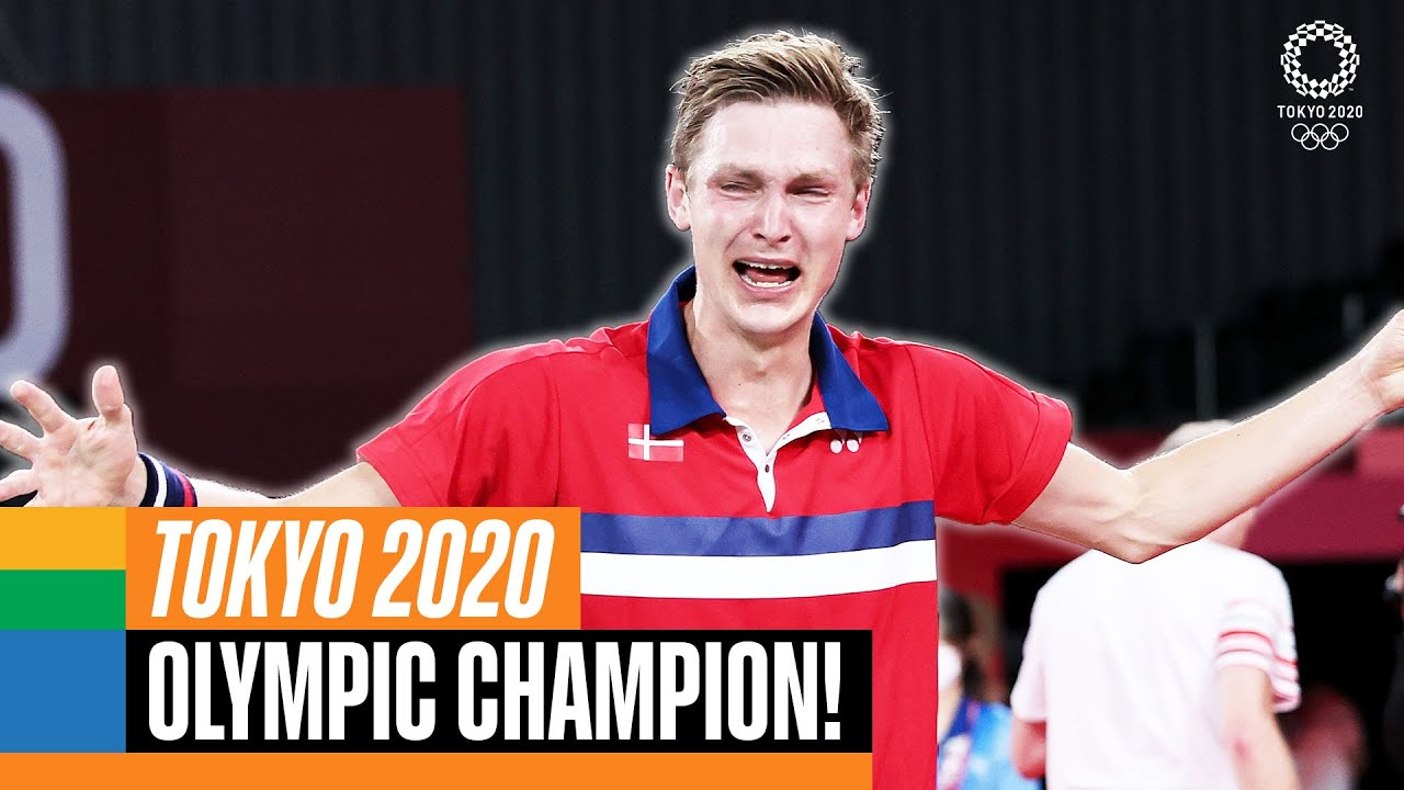 🇩🇰 🏸 HOW Viktor Axelsen clinched gold at Tokyo 2020!