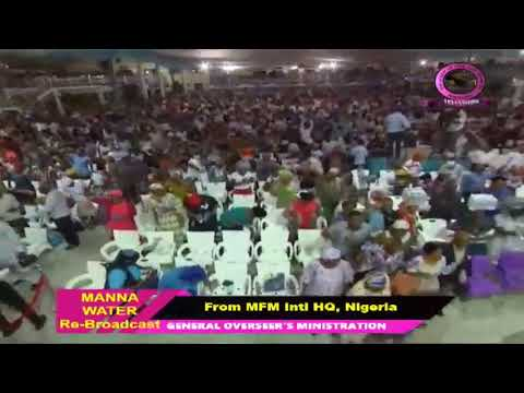 FRENCH MFM SPECIAL MANNA WATER SERVICE WEDNESDAY MAY 6th 2020