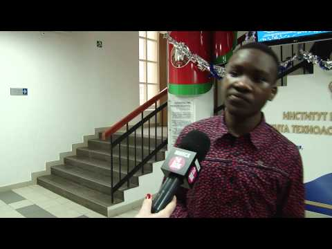 The student from Nigeria says about the charity action