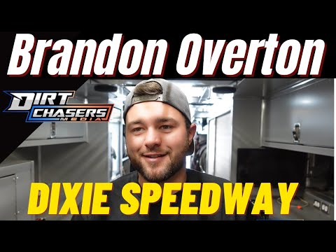 DIxie Speedway with Brandon Overton! - dirt track racing video image