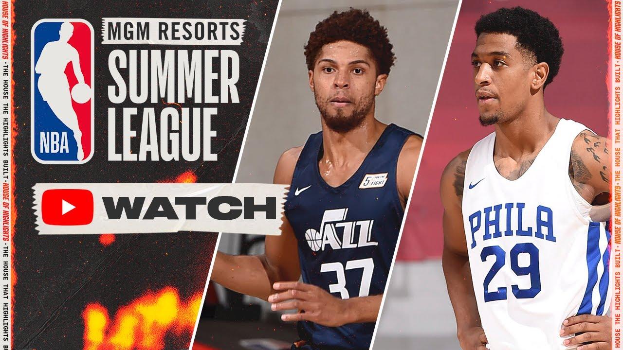Utah Jazz vs Philadelphia 76ers – Full Game Highlights | August 17, 2021 NBA Summer League