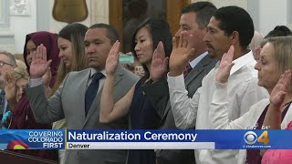 New U.S. Citizens Welcomed As Part Of Nationwide Naturalization Ceremonies