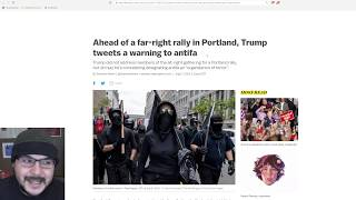With No Proud Boy Violence In Portland Media Smears Them Anyway