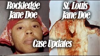 Sunshine and butter cakes - Rockledge Jane Doe and St. Louis Jane Doe  - case updates