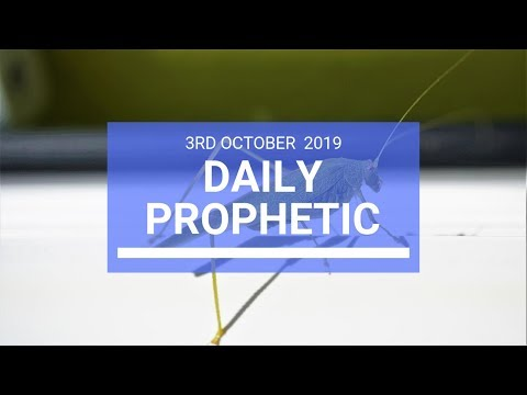 Daily Prophetic 3 October 2019   Word 6