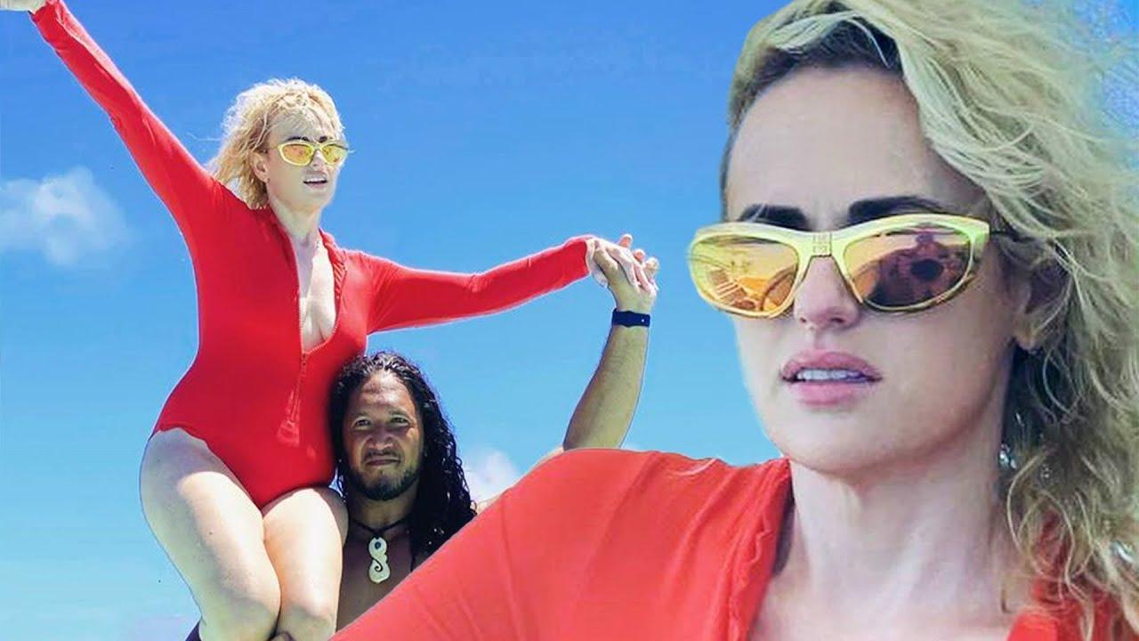 Rebel Wilson Flaunts Swimsuit While Channeling MOANA on TikTok