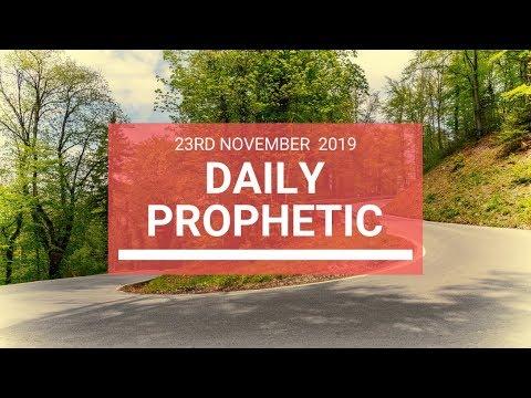 Daily Prophetic 23 November Word 6