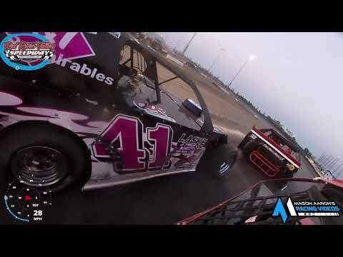 #5 Scott Jacobson IMCA Sport Mod On-Board @ RRVS (7/18/21) - dirt track racing video image