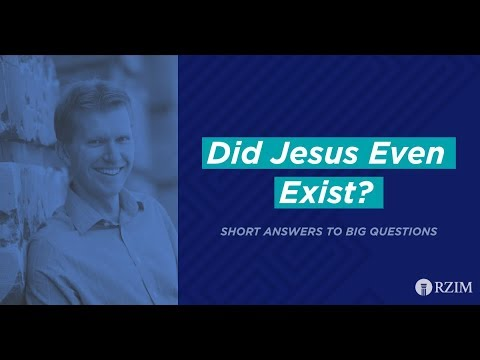 34. Did Jesus Even Exist?