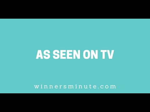 As Seen on TV // The Winner's Minute With Mac Hammond