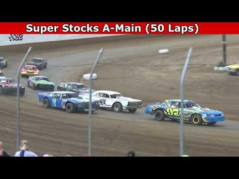 Grays Harbor Raceway, August 7, 2021, Super Stocks A-Main (50 Laps) - dirt track racing video image