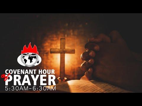 COVENANT HOUR OF PRAYER  30, AUGUST  2021 FAITH TABERNACLE