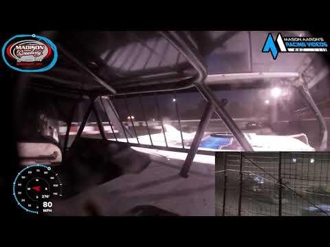 #66 Jake Knapper WISSOTA Super Stock On-Board @ Madison (10/3/21) - dirt track racing video image