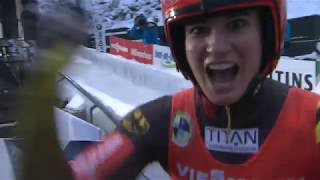 This was the Luge World Cup season 2018 / 2019