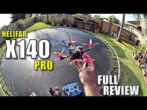 Helifar X140 Pro FPV Race Drone Review - [Unboxing, Flight/Crash Test, Pros & Cons] - UC3ifTl5zKiCAhHIBQYcaTeg