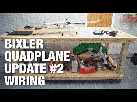 Bixler QuadPlane Update #2 - Mobile Workbench & Wiring - UC_LDtFt-RADAdI8zIW_ecbg
