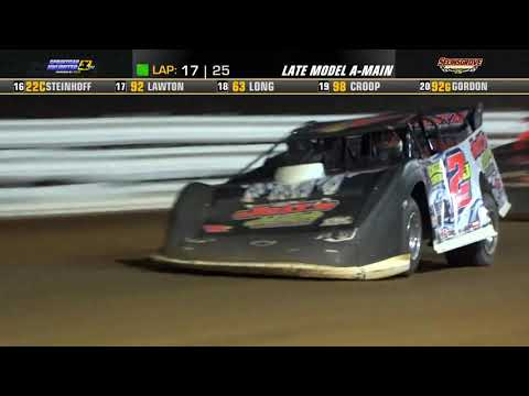 Selinsgrove Speedway | 75th Anniversary Super Late Model Highlights | 7/20/21 - dirt track racing video image