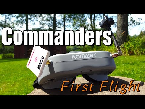 Aomway Commander First Flight : Coming from Box Goggles! - UC2c9N7iDxa-4D-b9T7avd7g