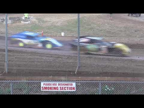 Cottage Grove Speedway Modifieds July 17th, 2021 - dirt track racing video image