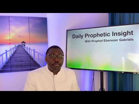 Prophetic Insight  Apr 13th, 2021