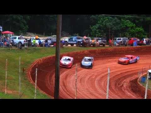 Modified Street at Winder Barrow Speedway June 5th 2021 - dirt track racing video image