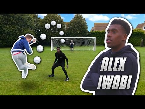 IMPOSSIBLE RAINBOW FLICK SHOOTING VS ALEX IWOBI - UCQ-YJstgVdAiCT52TiBWDbg