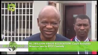 N1.2BILLION FRAUD ALLEGATION: COURT REMANDS MAURICE IWU IN EFCC CUSTODY