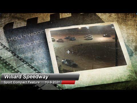 Willard Speedway - Sport Compact Feature - 10/9/2021 - dirt track racing video image