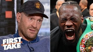 Tyson Fury guarantees a Deontay Wilder knockout in a potential rematch   First Take