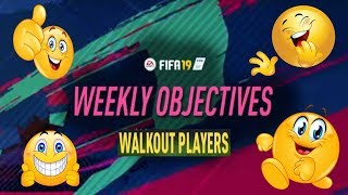 Even More Walkouts! Weekly Objectives!!! Sooo good!!!!