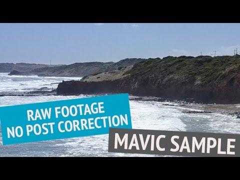 DJI Mavic Pro Drone Raw Footage Sample - No Post Correction - UCOT48Yf56XBpT5WitpnFVrQ