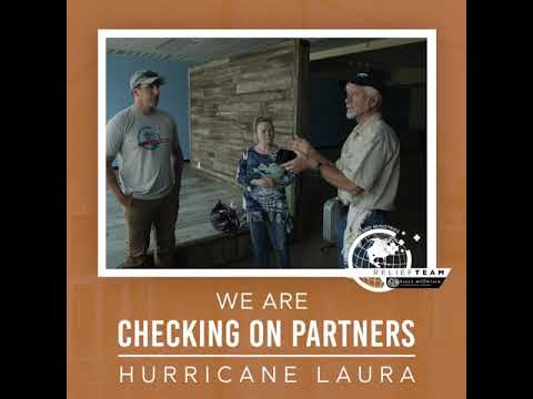 KCM Relief Team Ministers in Lake Charles Following Hurricane Laura