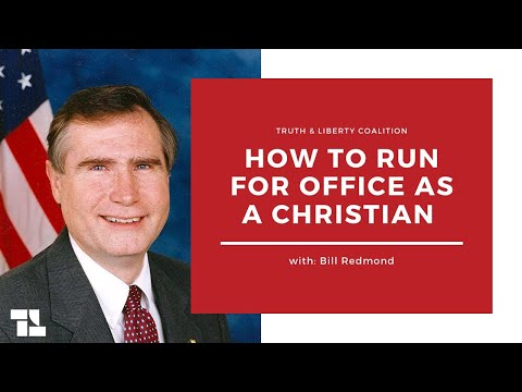 Bill Redmond on How To Run for Office As A Christian Conservative & More! - July 20, 2020