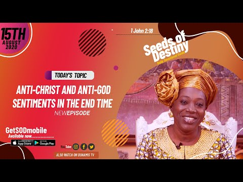 Dr Becky Paul-Enenche - SEEDS OF DESTINY - SATURDAY AUGUST 15, 2020