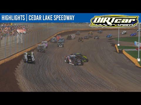 DIRTcar eSports Big Block Modifieds Cedar Lake Speedway May 5, 2021 | HIGHLIGHTS - dirt track racing video image