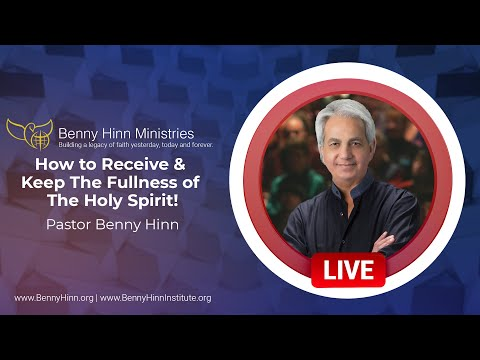 How to Receive & Keep The Fullness of The Holy Spirit!