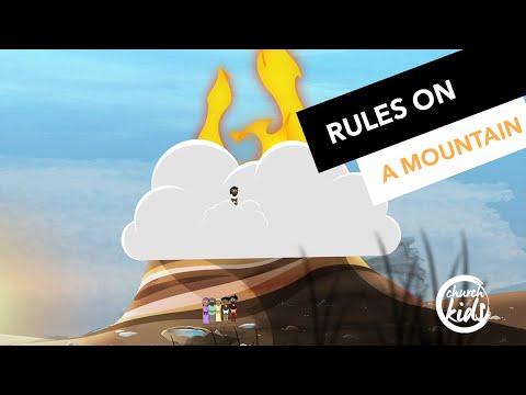 ChurchKids: Rules on a mountain