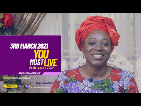 Dr Becky Paul-Enenche - SEEDS OF DESTINY  WEDNESDAY MARCH 3, 2021