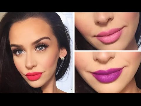 Valentine's Day Makeup Tutorial! 3 Lip Options - UC21yq4sq8uxTcfgIxxyE9VQ