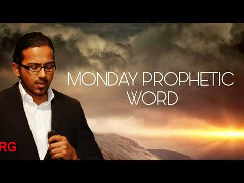 MONDAY PROPHETIC WORD AND SPECIAL PRAYER AND FASTING 21 JANUARY 2019