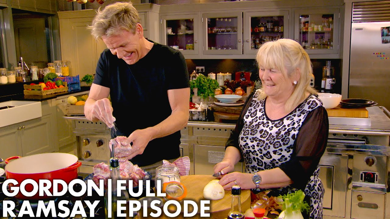 Gordon Ramsay Cooks Oxtail With His Mother   Home Cooking FULL EPISODE