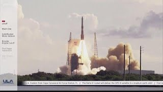 ULA Delta IV rocket launches from Cape Canaveral