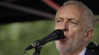 Labour-Chef Jeremy Corbyn plant offenbar Revolte gegen Johnson