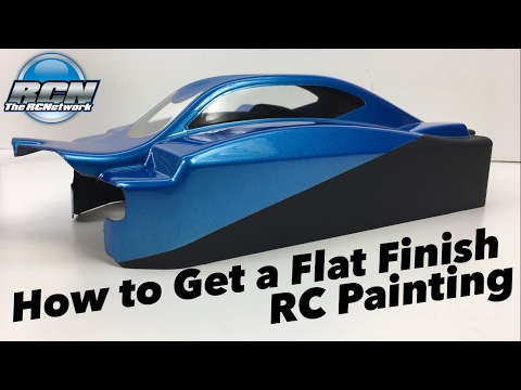 How to Get a Flat Finish on your RC Body - Pactra Paint Series EP3 - UCSc5QwDdWvPL-j0juK06pQw
