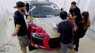 Audi R8 Special Wrap - Car Passion 2019 Vietnam