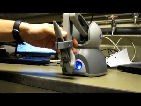 Robotics I Phantom Omni Project demonstration. - UCd937X-NFDP6Kybqv_dDzQw