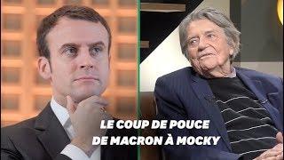 Sans Emmanuel Macron, Jean-Pierre Mocky n'aurait sans doute jamais réalisé cette série