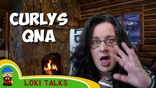 Curly does a QnA and loses the plot! - The Ramble